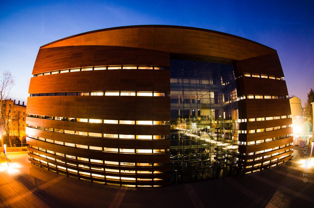 Narodowe Forum Muzyki Wrocław- zdjęcia inwestycji.