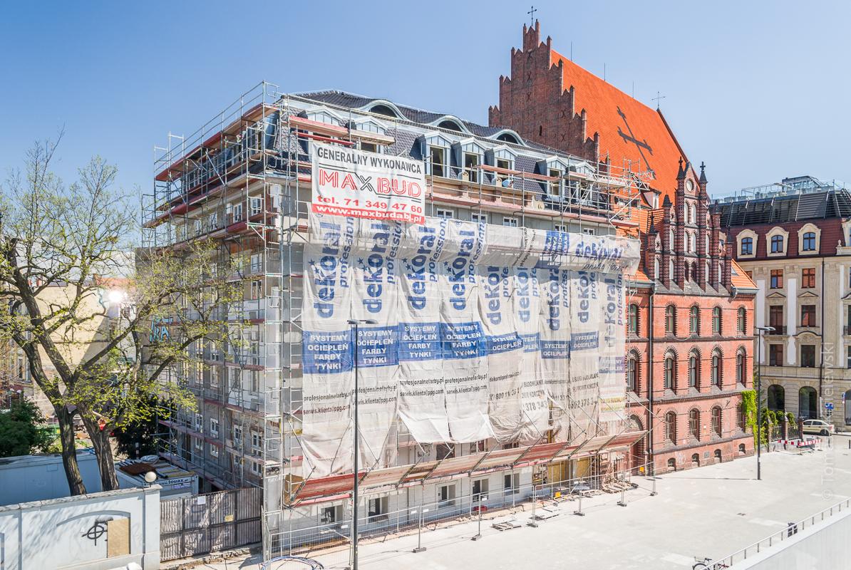 Wrocław, Plac Wolności 4- fotografie inwestycji.