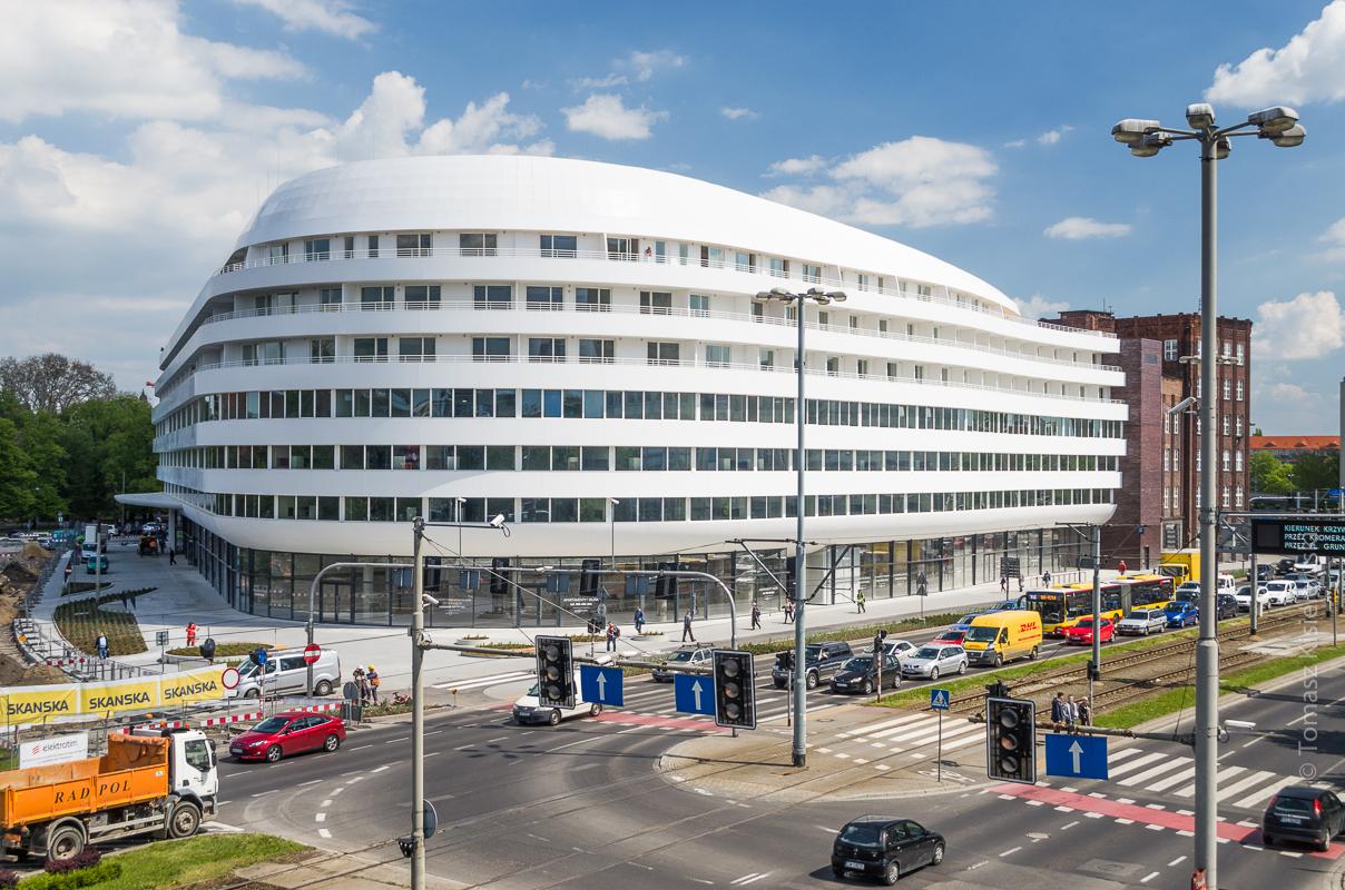 Hilton Wrocław- w oczekiwaniu na otwarcie.